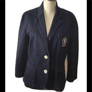 Ralph Lauren vintage button Up jacket size large